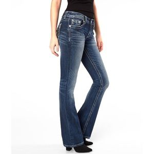 Miss Me • Relaxed Bootcut Jeans 26x32
